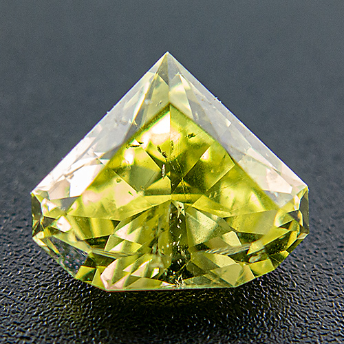 Chrysoberyl from Brazil. 2.43 Carat. Profile Cut, small inclusions