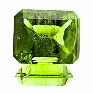 Peridot from Pakistan. 10.07 Carat. from kohistan district, without the ludwigite needles typical for pakistani peridot