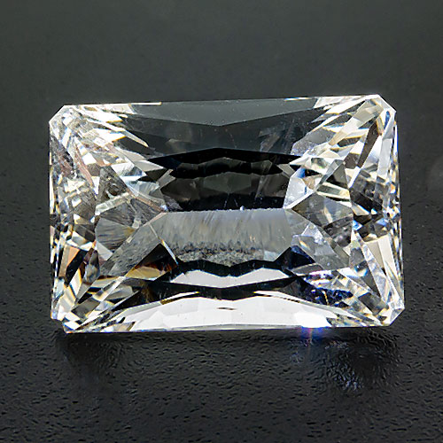 Hyalophane from Bosnia and Herzegovina. 8.25 Carat. By far the largest stone from the famous Zagradski Potok mine.