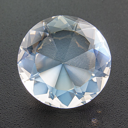 Moonstone From Ziller Valley/Austria from Austria. 5.39 Carat. Outstandingly fine and specimen! Excellently cut, intense shiller.