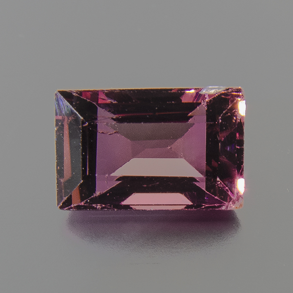 Tourmaline (Rubellite) from Brazil. 1.63 Carat. from the sapo mine in minas gerais