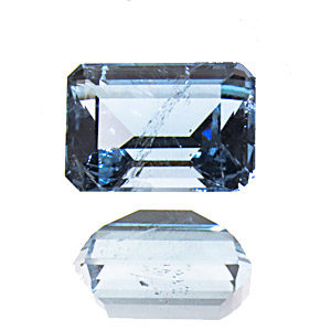 Aquamarine from Brazil. 0.83 Carat. very good colour