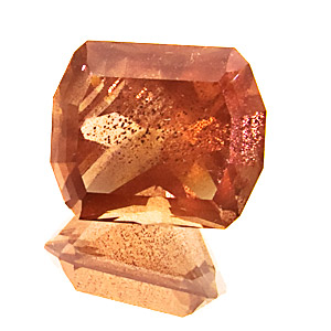 Oregon Sunstone from United States. 2.59 Carat. Plagioclase feldspar