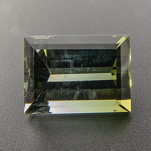 Tourmaline (Verdelite) from Nigeria. 3.14 Carat. very lively bi-coloured gem, pleasant colour