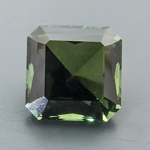 Tourmaline (Verdelite) from Namibia. 1.1 Carat. Octagon, very very small inclusions