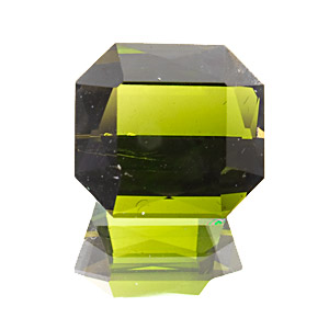 Tourmaline (Verdelite) from Namibia. 2.31 Carat. Olive green tourmaline from near Otjimbingwe, the former capital of German South-West Africa