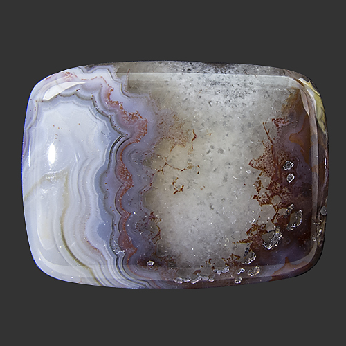 Crazy Lace Agate from Mexico. 1 Piece. with small natural cavities