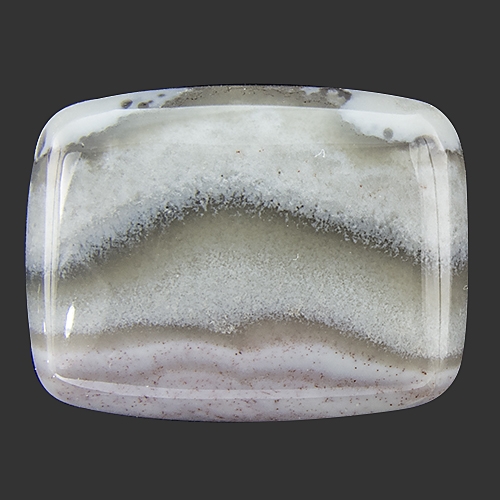 Crazy Lace Agate from Madagascar. 1 Piece. Cabochon Cushion, opaque