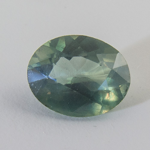Alexandrite from India. 0.31 Carat. Oval, small inclusions