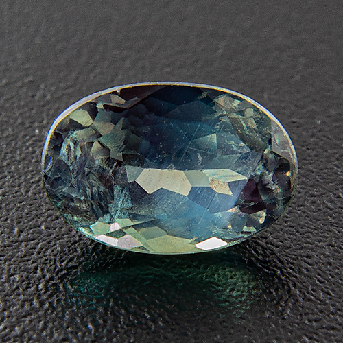 Alexandrite from India. 0.61 Carat. Oval, distinct inclusions