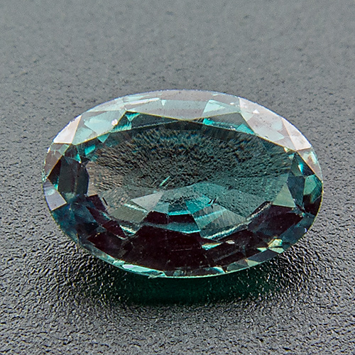 Alexandrite from India. 0.38 Carat. Oval, very small inclusions