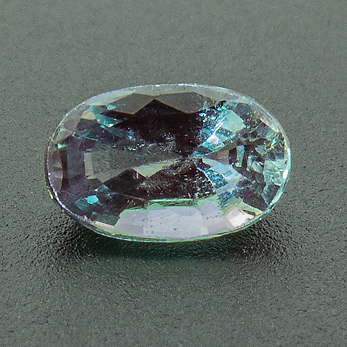 Alexandrite from India. 0.43 Carat. Oval, very small inclusions