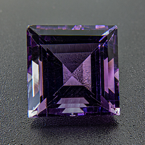 Amethyst from Brazil. 1 Piece. Square, very very small inclusions