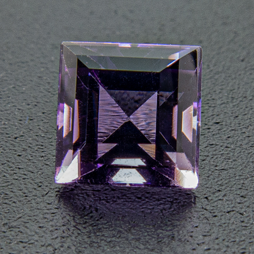 Amethyst from Brazil. 1 Piece. Square, very small inclusions