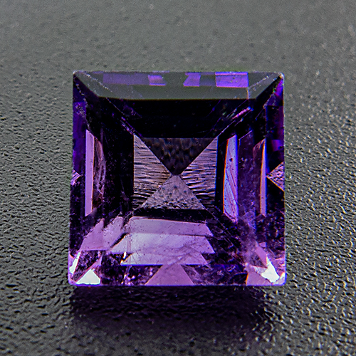 Amethyst from Zambia. 1 Piece. Square, very very small inclusions