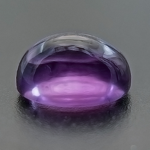 Amethyst from Brazil. 1 Piece. Unusually clean. Facetting grade.