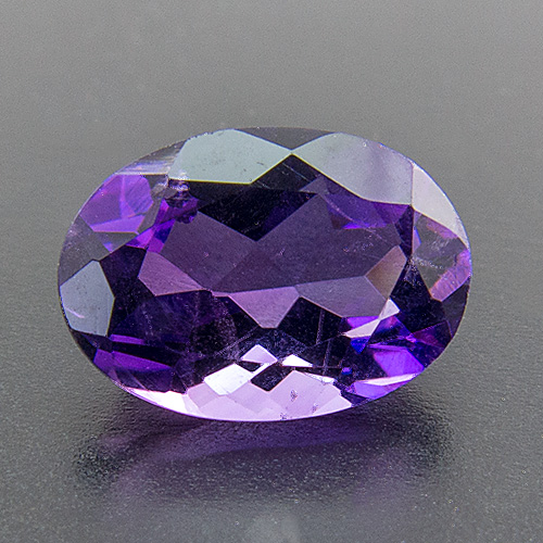 Amethyst from Zambia. 1 Piece. Oval, small inclusions