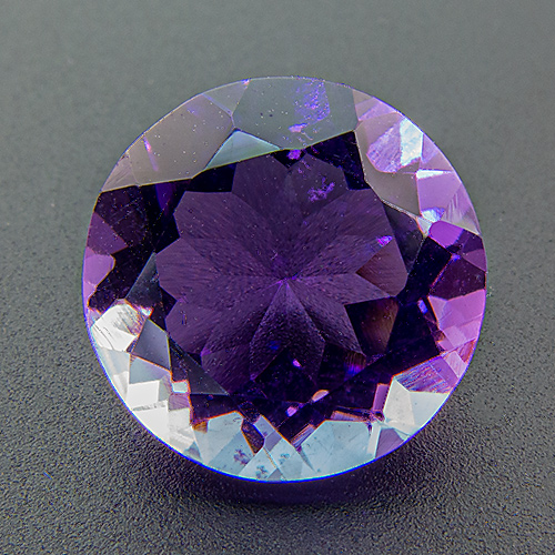 Amethyst from Zambia. 1 Piece. Round, very very small inclusions