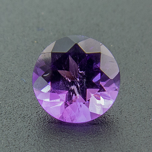 Amethyst from Africa. 1 Piece. Round, very small inclusions