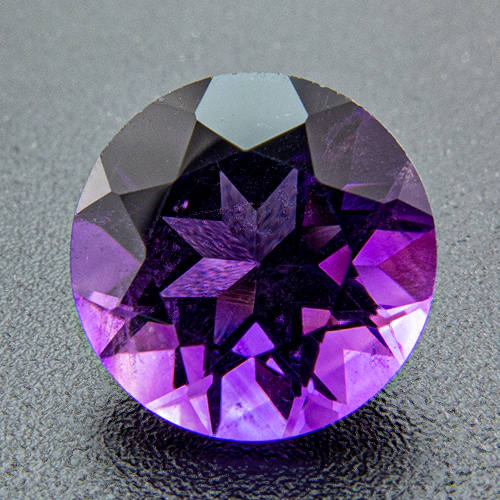 Amethyst from Zambia. 1 Piece. Round, small inclusions