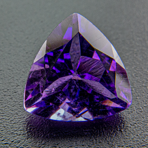 Amethyst from Zambia. 1 Piece. Trillion, small inclusions