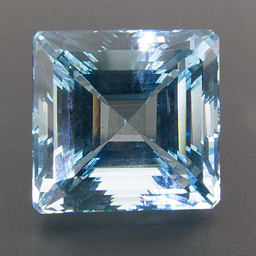 Aquamarine from India. 13.86 Carat. Excellent specimen! One of our best