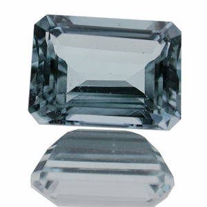 Aquamarin from Brazil. 2.42 Carat. very good commercial 
