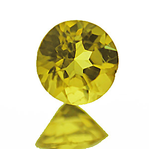 Golden Beryl from India. 1 Piece. Round, very very small inclusions