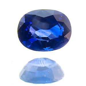 Sapphire from Thailand. 1 Piece. from an appraiser´s estate