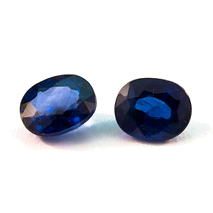 Sapphire from Thailand. 0.71 Carat. Oval, very small inclusions
