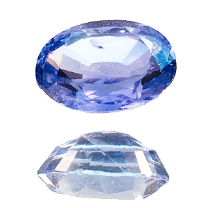 Sapphire from Sri Lanka. 1.06 Carat. Oval, small inclusions