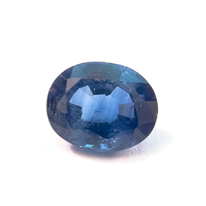 Sapphire from Thailand. 0.42 Carat. Oval, small inclusions