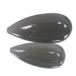 Moonstone from India. 10.45 Carat. Teardrop Round, semi-translucent