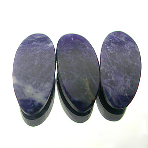 Sodalite. 1 Piece. Cabochon Oval, opaque