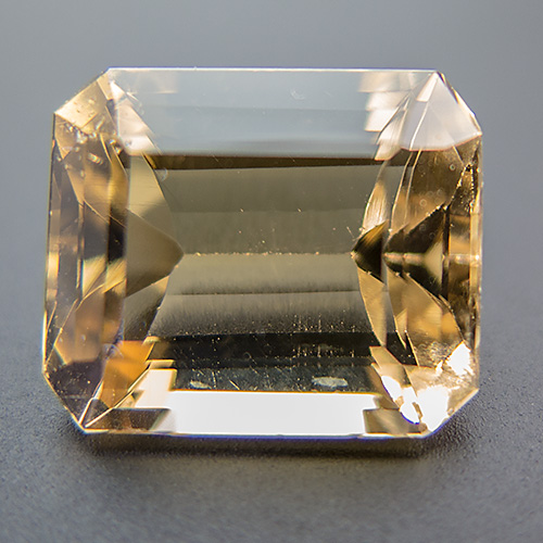 Citrine from Brazil. 12.65 Carat. Unheated, naturally coloured citrine