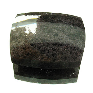"""Lodolite"" from Brazil. 31.46 Carat. Cabochon Cushion, very distinct inclusions"