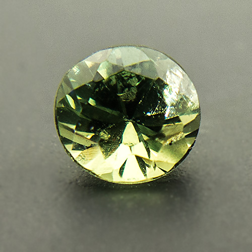 Demantoid Garnet from Namibia. 0.34 Carat. Brilliant, small inclusions
