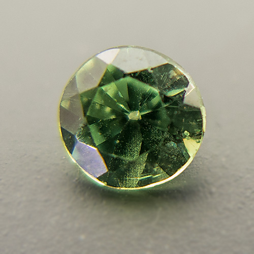 Demantoid Garnet from Namibia. 0.43 Carat. Brilliant, very very small inclusions