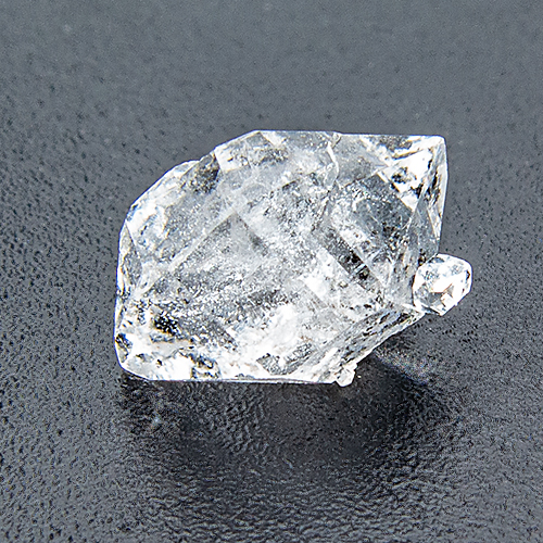 Herkimer Diamond (Quartz) from United States. 1 Piece. Natural Crystal, distinct inclusions
