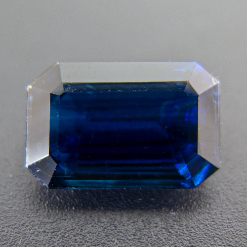 Kyanite (Disthene) from Nepal. 4.85 Carat. Emerald Cut, small inclusions
