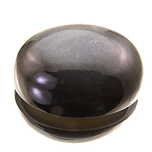 Moonstone from Africa. 113.57 Carat. giant anthracite coloured moonstone with fine silvery sheen