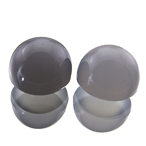 Moonstone from India. 1 Piece. Cabochon Round, semi-translucent