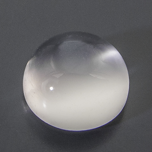Moonstone from India. 1 Piece. Cabochon Round, translucent