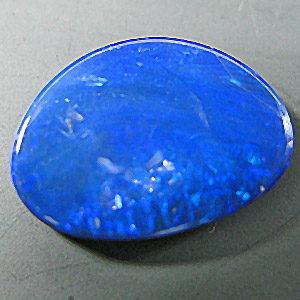 Opal Doublet from Australia. 1 Piece. Cabochon Fancy, opaque