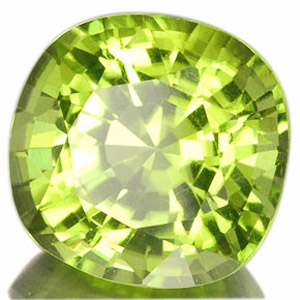 Peridot from Myanmar. 4.24 Carat. very lively