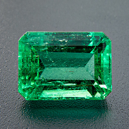 Emerald from Colombia. 2.67 Carat. Emerald Cut, small inclusions
