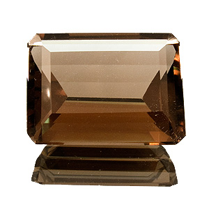 Smoky Quartz from Brazil. 28.33 Carat. Emerald Cut, very very small inclusions