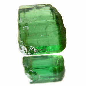 Tourmaline (Verdelite) from Africa. 0.79 Gramm. new mine! beautiful and clean facetting 