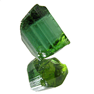 Tourmaline (Verdelite) from Africa. 0.84 Gramm. new mine! beautiful and clean facetting 