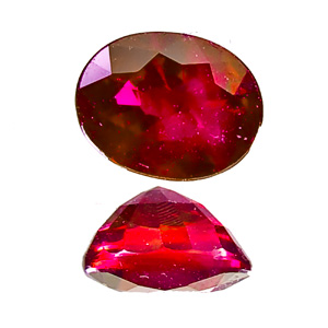 Ruby from Myanmar. 1.02 Carat. deep red